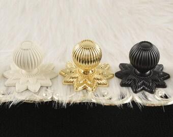 European Drawer Knobs Door Knobs Wardrobe Knobs Wine Cabinet Knobs Modern Simple Metal Knobs Small White Gold Black Knobs