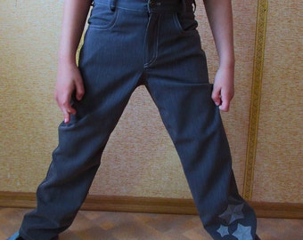 Sewing pattern Trousers for boys pdf sewing pattern, boys trouser  pattern sizes 3 to 9 years,  Pants boys, Childrens pdf sewing patterns.