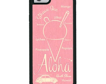iPhone Art Case Aloha Shave Ice - Pink