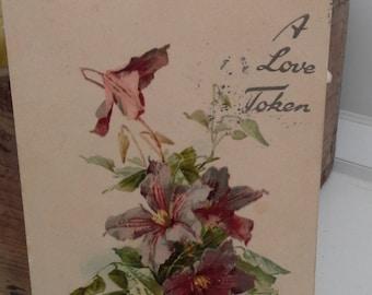 Vintage postcard circa 1900