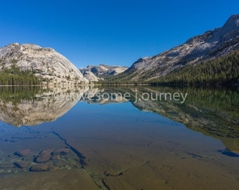 Rocky Mirror - Yosemite National Park - Framed Photography