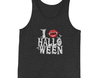 I Fang Halloween Jersey Tank Top for Men