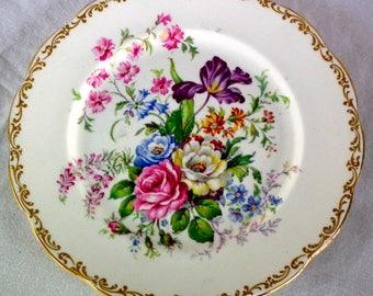 "Vintage Royal Albert ""Nosegay"" Dinner Plate"