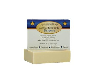 Blueberry Castile Saddle Soap