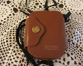 Vintage Weston Exposure Light Meter With Case