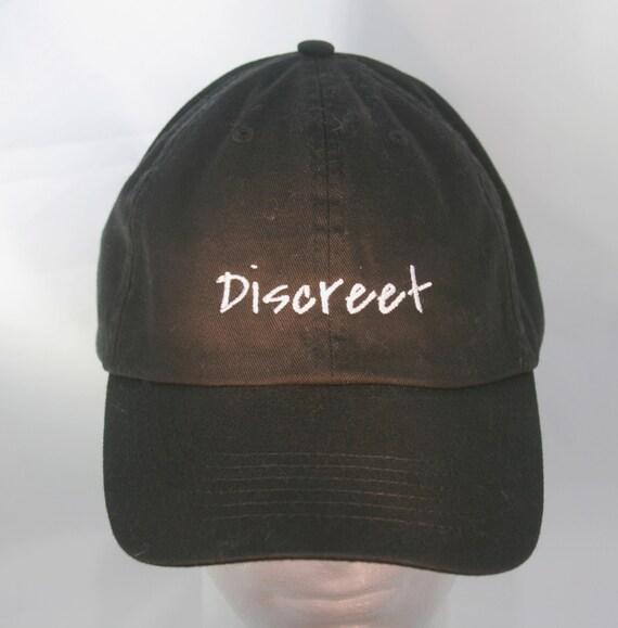 Discreet (Polo Style Ball Black with White Stitching)
