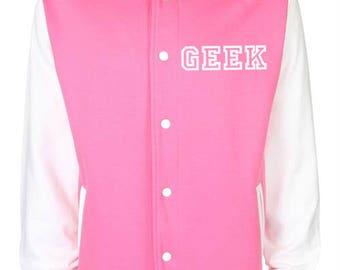 Geek Varsity Jacket