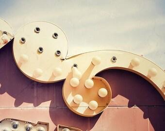Merry Go Round Photo, Circus Theme Art, Playroom Wall Decor, Industrial Art