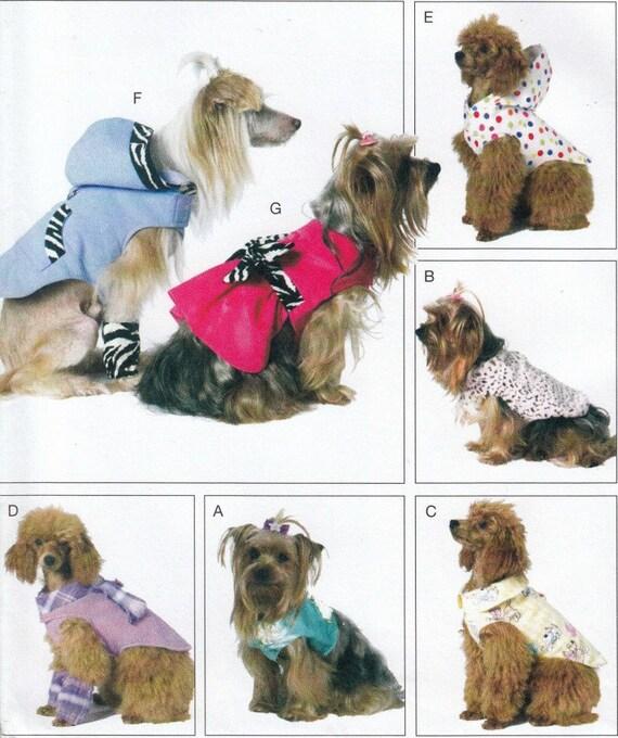 Hund Hund Kleidung Schnittmuster Jacke Muster