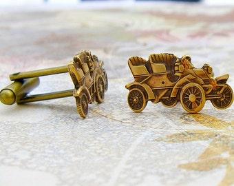 Antique Automobile cufflinks