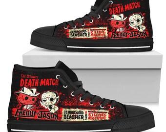 Freddy VS Jason High Shoes