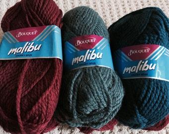 Malibu by Bouquet - Chunky Spun - Acrylic Wool Blend - Made in Canada