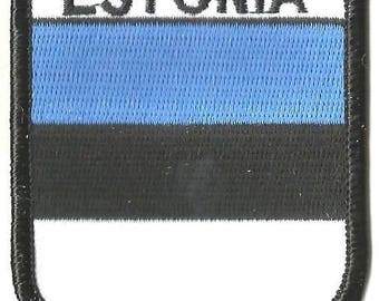 Estonia Embroidered Patch