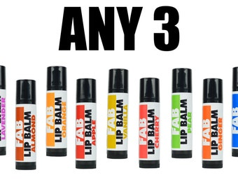 ANY 3 Lip Balm Vegan