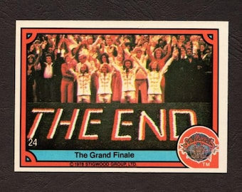 Vintage 1978 Donruss Sgt. Peppers Trading Card #24 – The Grand Finale