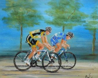 """Painting"""" Training cycling """""""