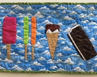Summer Treats applique quilt pattern