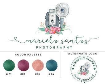 Water color camera - Photography logo -Marcelo Santos - Watermark 014