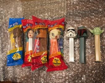 Star Wars Pez collection - Vintage 1997 & 1998