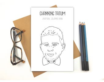 Channing Tatum Coloring Book
