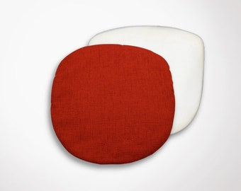 Cushion (cover + foam) Saarinen TULIP Chair - red Heather