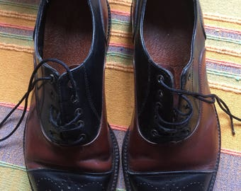 English Made Mens Leather Oxford Shoes