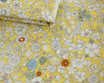 Laminated Cotton Fabric Yellow By The Yard