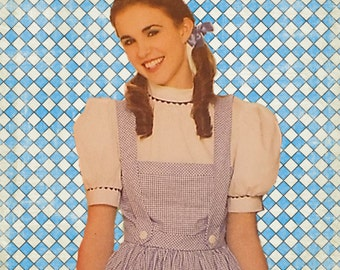 Miss Wizard of Oz Dorothy Dress Costume