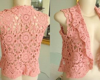 Vest / Bolero crochet handmade
