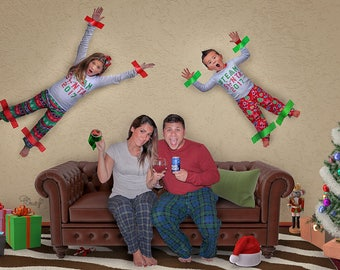 funny christmas card backgrounds