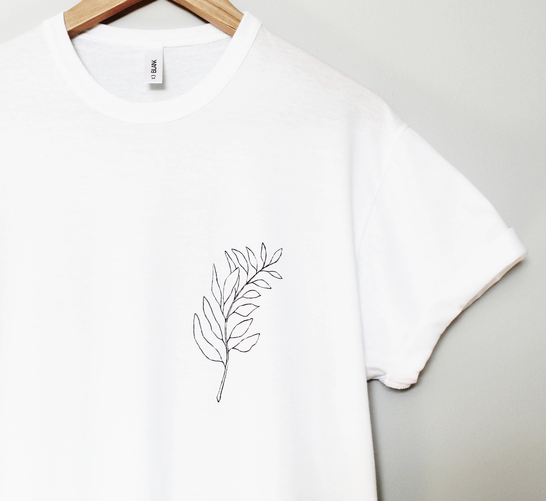 Bee hand painted t-shirt, UNISEX pocket shirt, black gold bumble bee illustration, save the bees honeybee minimalist wearable art, men women