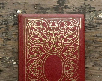 WORN Oscar Wilde Poems, Essays and Letters bound in faux leather