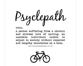Cycling Card - Psyclepath