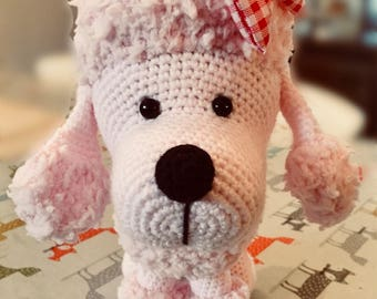 Duchess the little Poodle Pup - Crochet & Knitted Digital Downloadable Pattern