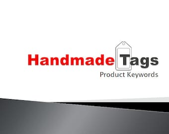 Handmade Tags Product Keywords SEO View Booster