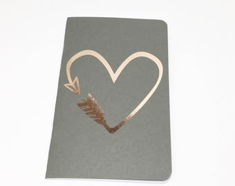 Rose Gold Notebook - Rose Gold - Notebook - Rose Gold Collection