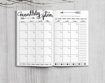 printable pocket calendars