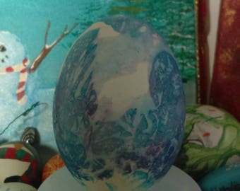 Vintage Ornaments Home Decor ImaJeanarium Goose Egg Art