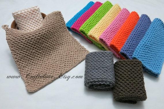 Knit Dishcloth Cotton Dishcloth Knit Washcloths 100 Cotton