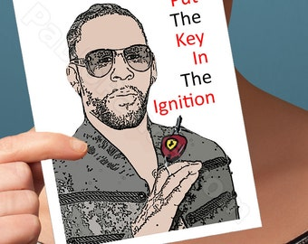 Anniversary Card | R Kelly | I Love You Card Funny Anniversary Greeting Card Bump And Grind Boyfriend Card Husband Card Girlfriend Funny
