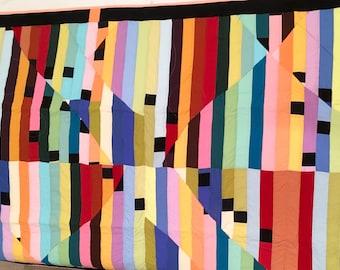 Black & Bright Quilt