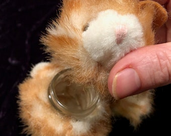 Furry kitteh stash jar for your stashables