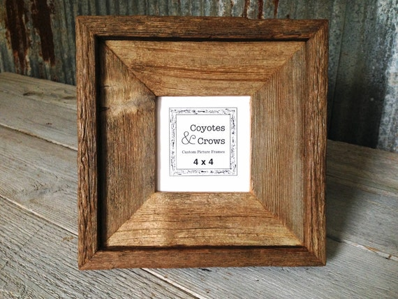 4x4 Square picture Frame - 2.5\