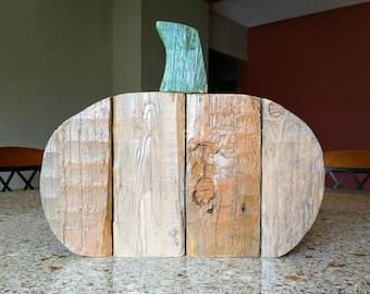 Wood Rustic Pumpkins