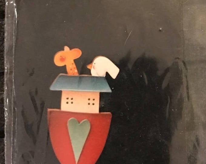 Helena's Heart Strings 1996 Wood Crafts Pin Kit – Promises Kept Pack #37 Pin Kit