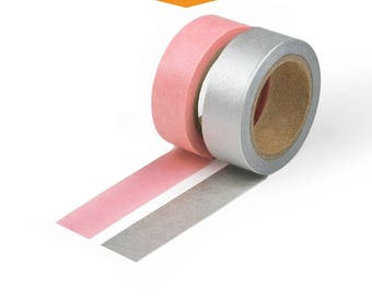 Light pink tape etsy 2 pack light pink aloadofball Image collections
