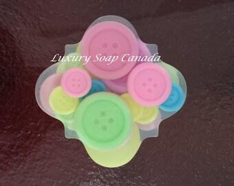 Buttons soap bar