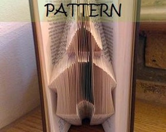 Book folding Pattern: CHAPEL design (including instructions) – DIY gift – Papercraft Tutorial - make this perfect house-warming gift