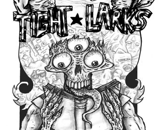 TIGHT LARKS digital comics anthology by Paul Jon Milne