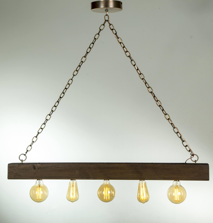 Rustic Lighting Reclaimed Wood Light Rustic Chandelier Rope